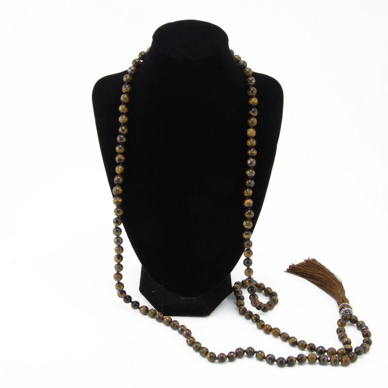 Kaklarota (Brūnas tīģeracs pērles)