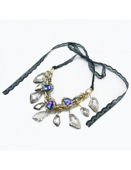 Kaklarota (Zils un tumši caurspīdīgiem stikliem)