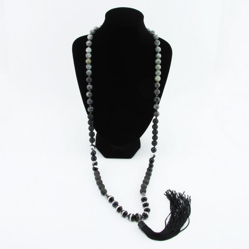 Necklace (Black, Gray,...