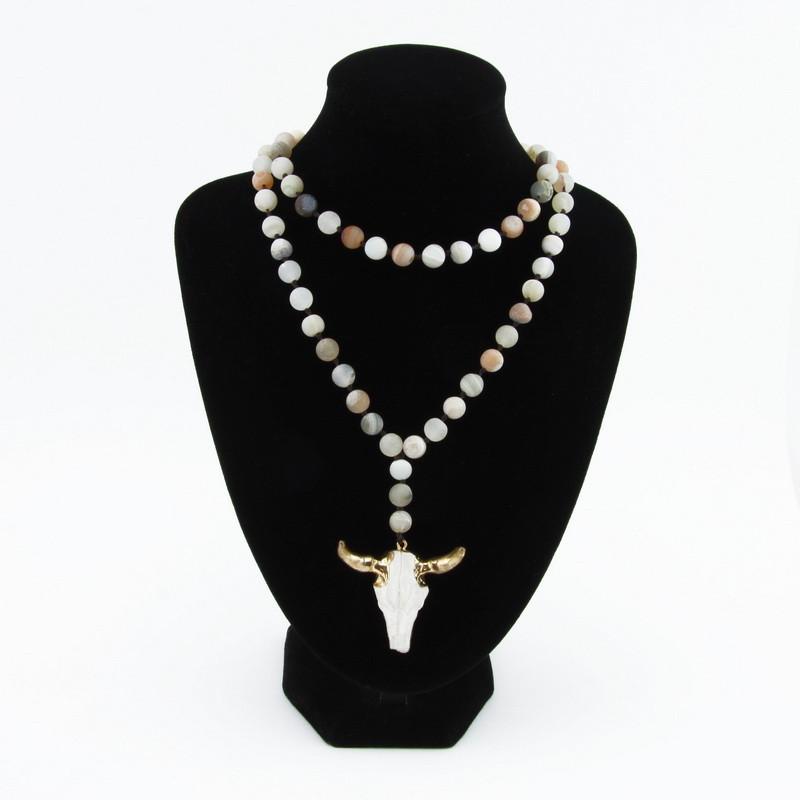 Beads (Gray, pink, white...