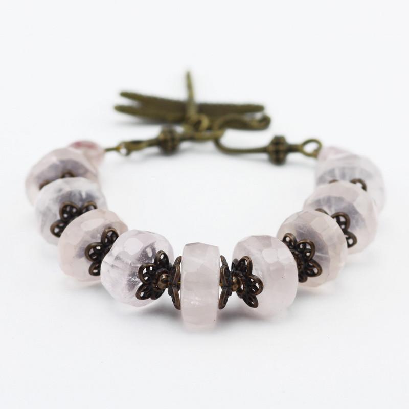 Bracelet (Rose quartz)