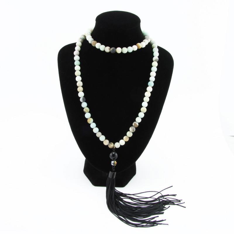 Necklace (Pastel blue,...