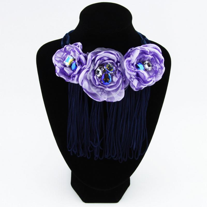Necklace (Light violet...