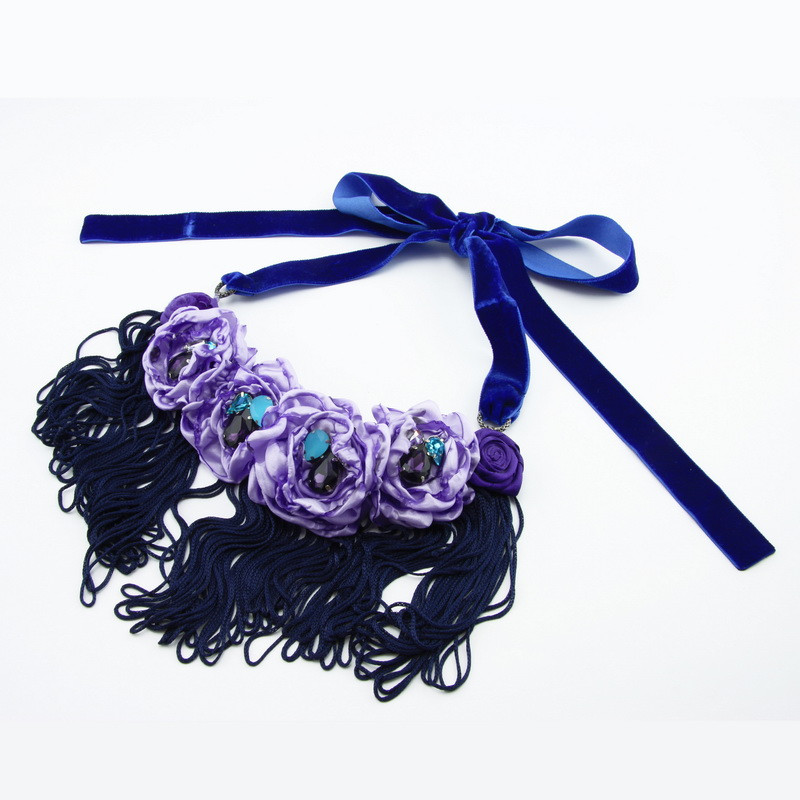 Necklace (Light purple,...