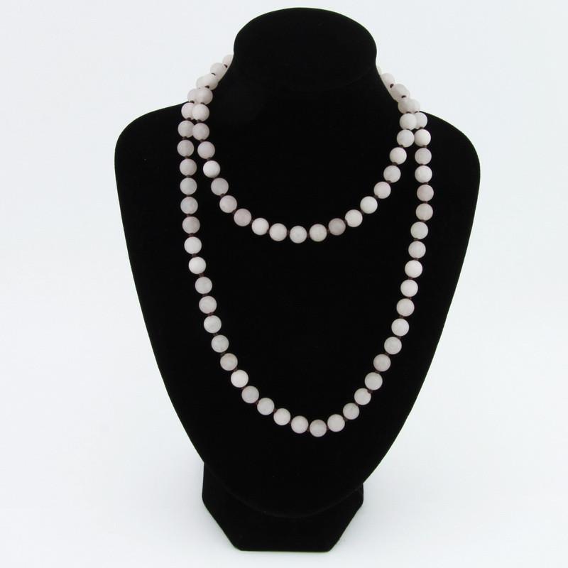 Necklace (Pink Quartz)
