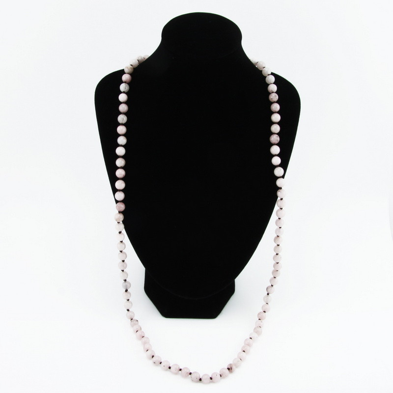 Necklace (Pink agate)