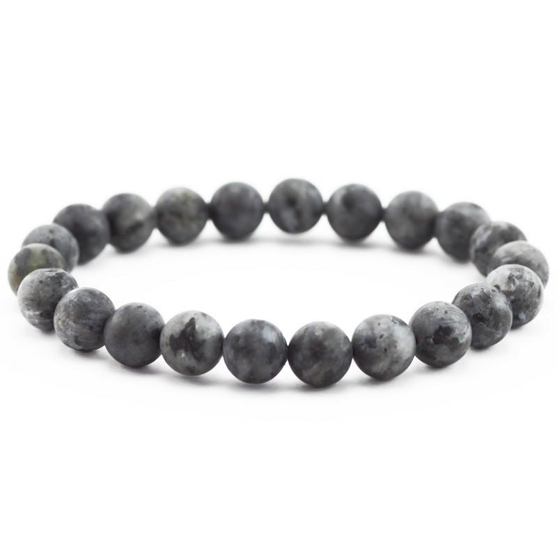 Bracelet (gray labradorite)