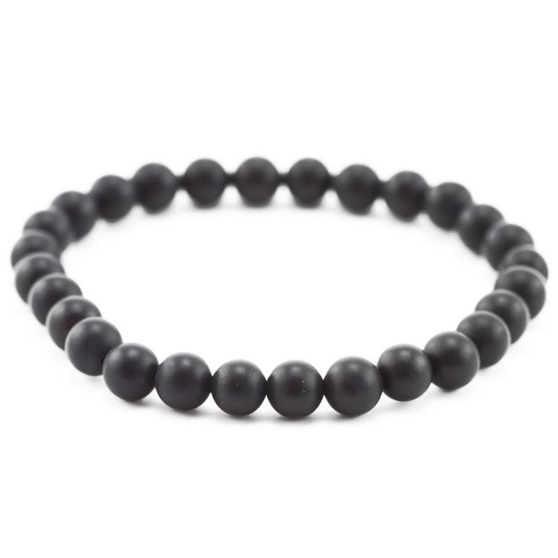 Bracelet (Black nephrite)