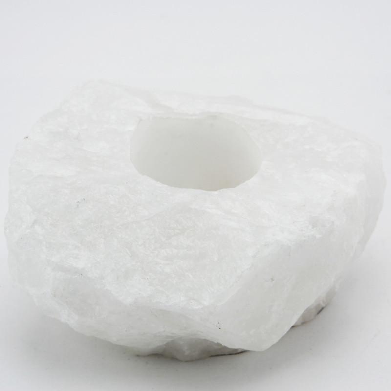 Candleholder (White quartz)