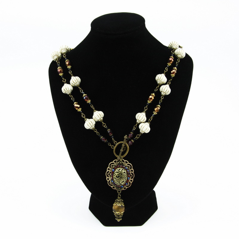 Necklace (Stones with...