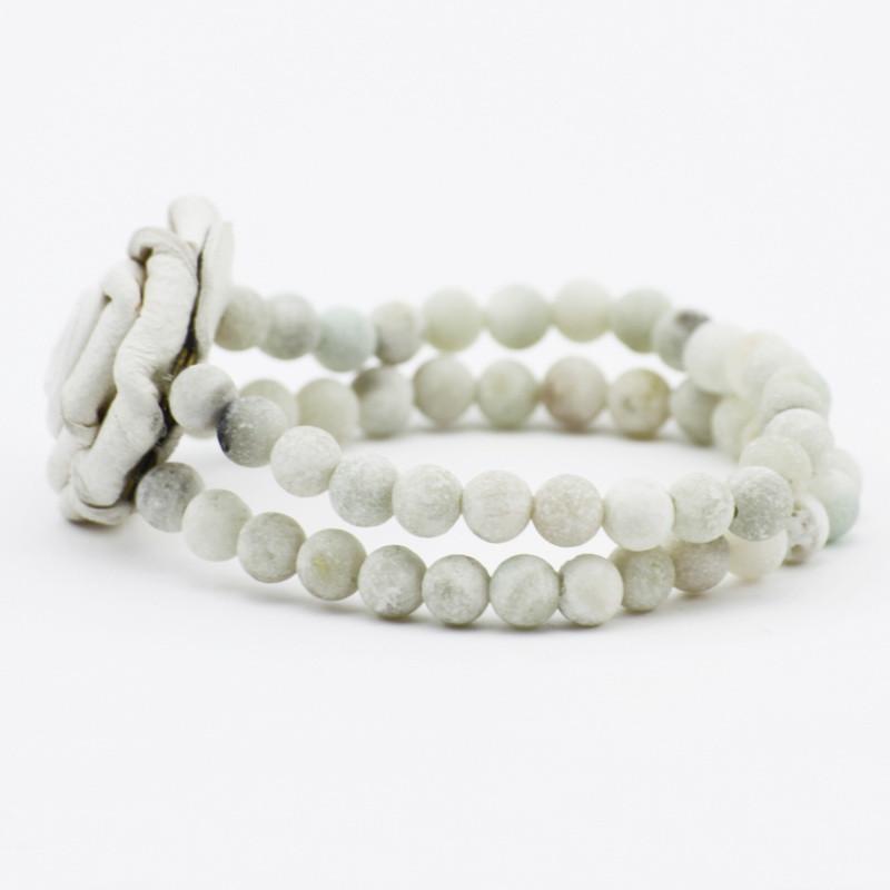 Bracelet (amazonite, white...
