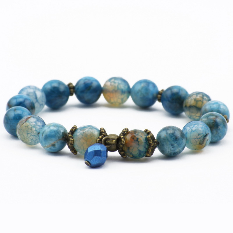 Blue Agate and Apatite...