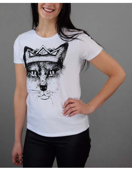 "T-shirt ""Fox with crown"""