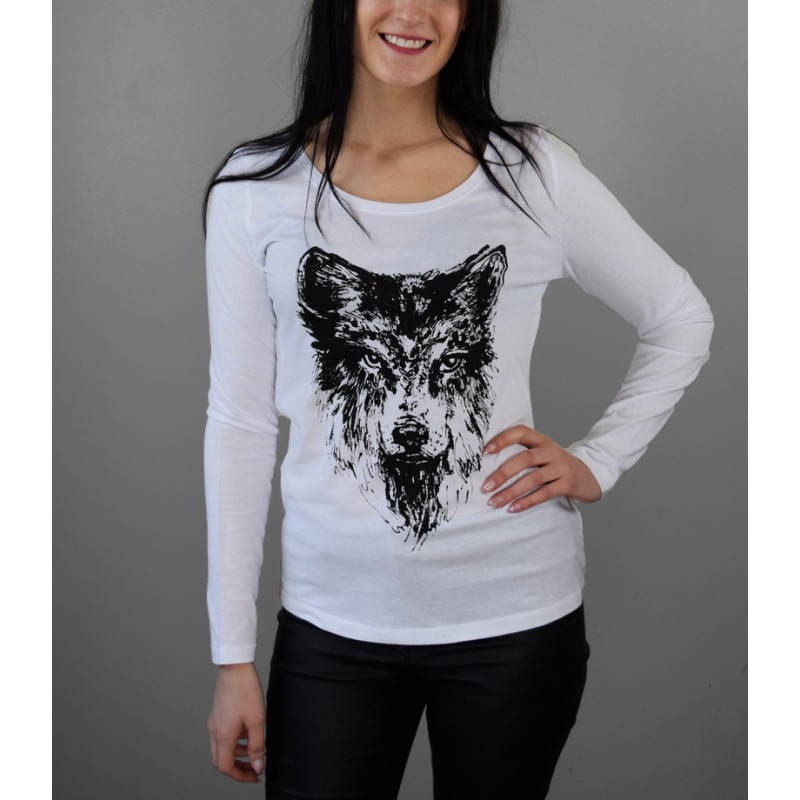 "Long sleeve shirt ""Wolf"""