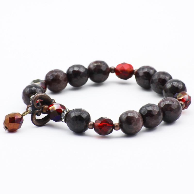 Bracelet with Garnet