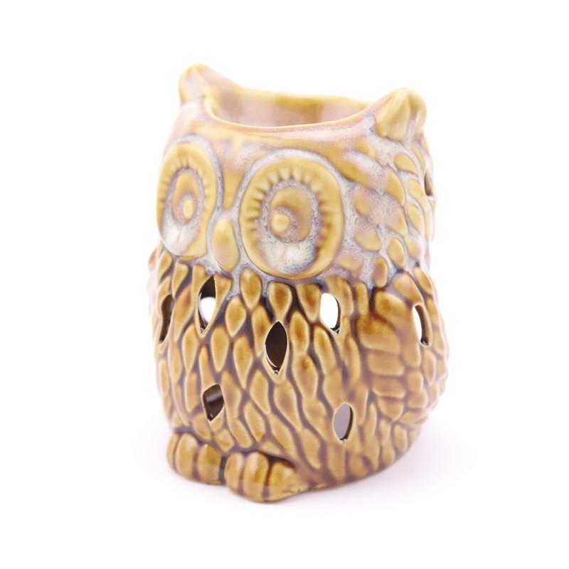 Oil Burner Owl (Ceramic)