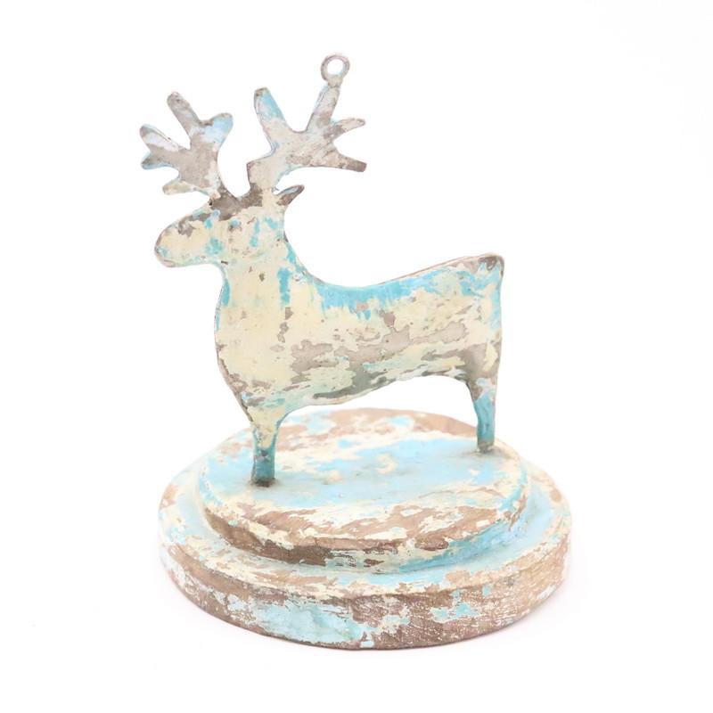 Deer (Metal and wood)