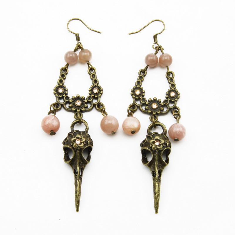 Moonstone Earrings with...