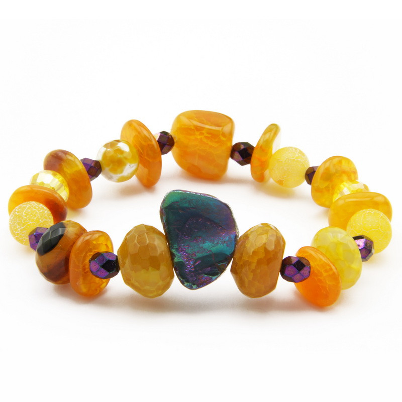 Orange and Yellow Agate...