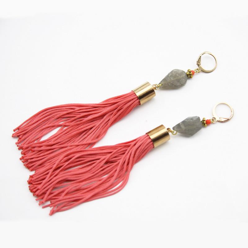 Labradorite Earrings with...