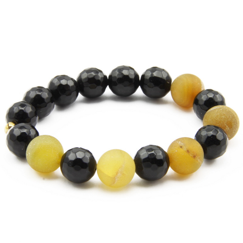 Black and Yellow Agate...