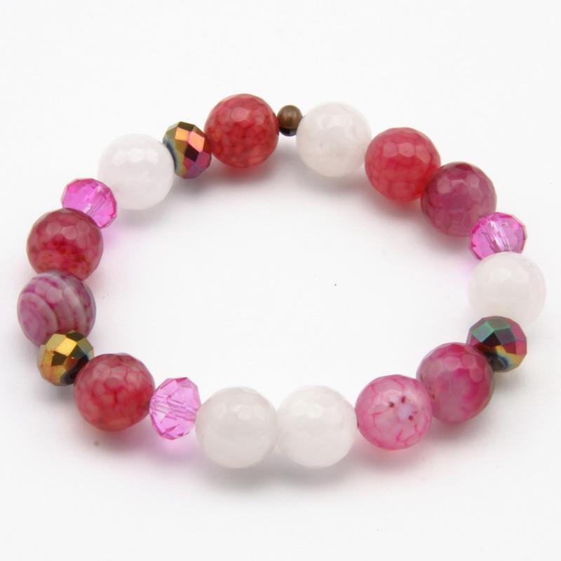 Pink Agate and Rose Quartz...