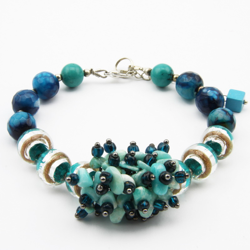 amazonite and agate...