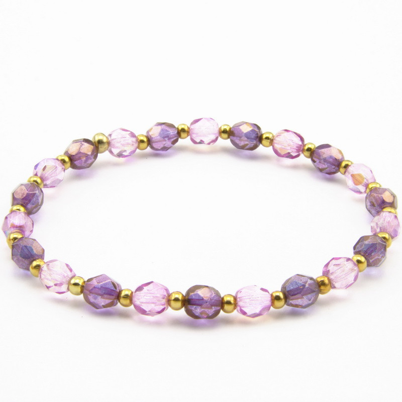 Bracelet with Czech Crystals