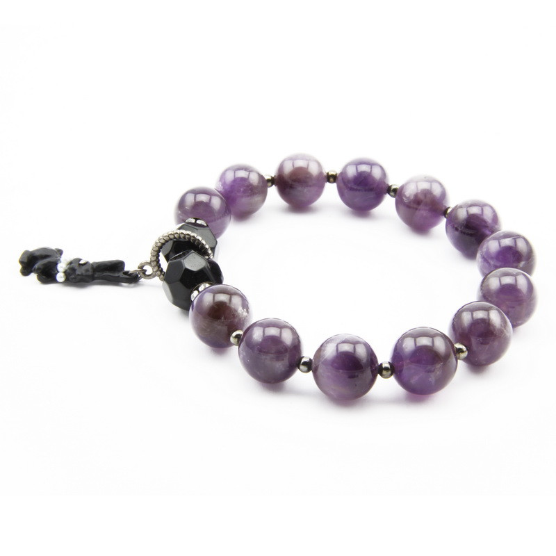 Amethyst Bracelet with...