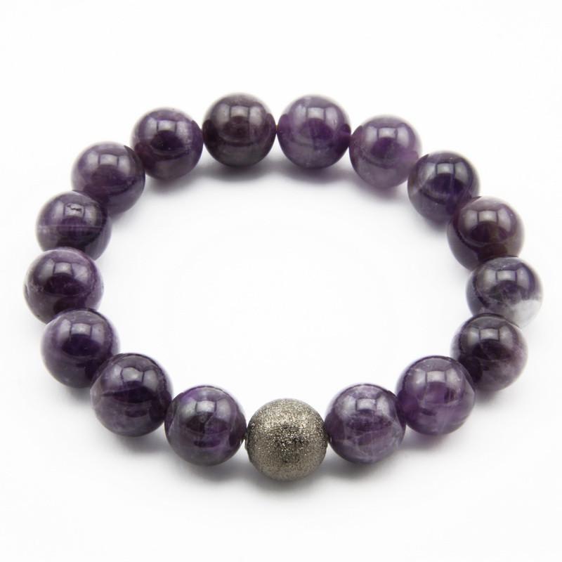 Amethyst Bracelet with a...