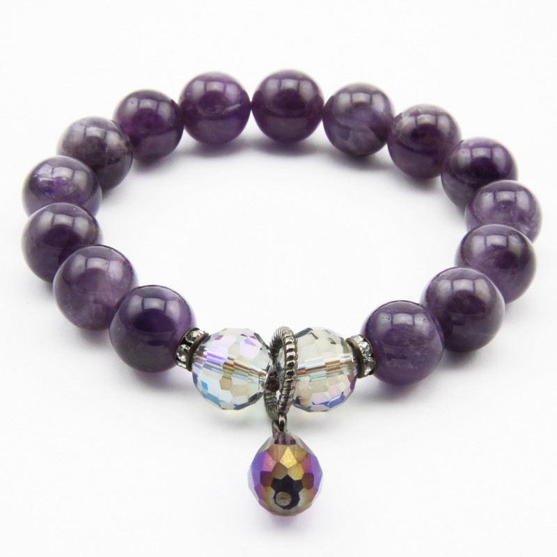 Bracelet with Amethyst,...