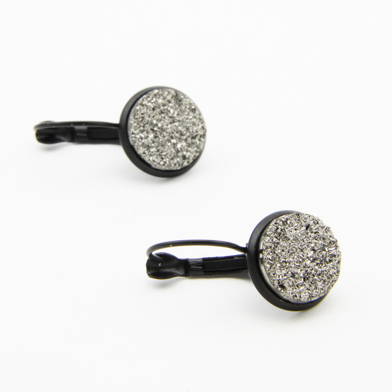 Silver Color Earrings with...