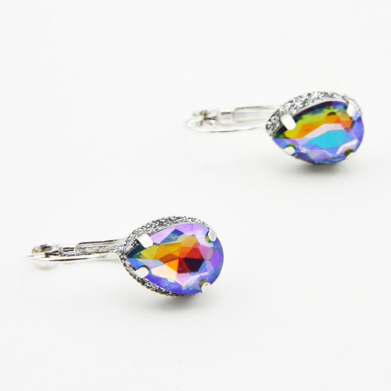 Rainbow colored glass...