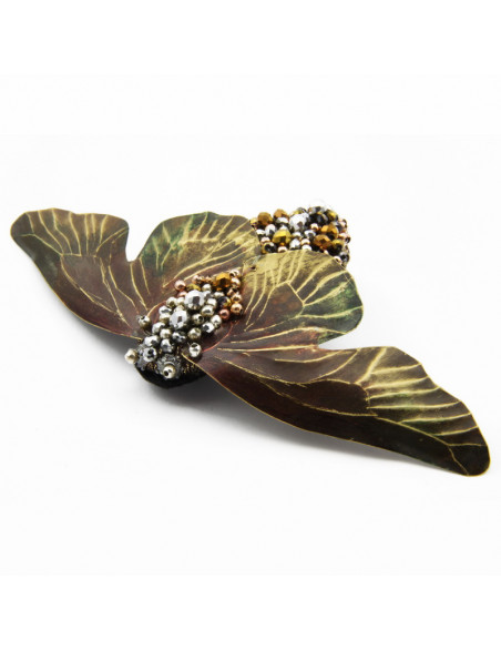 "Brooch ""Fly"" with Silver,..."
