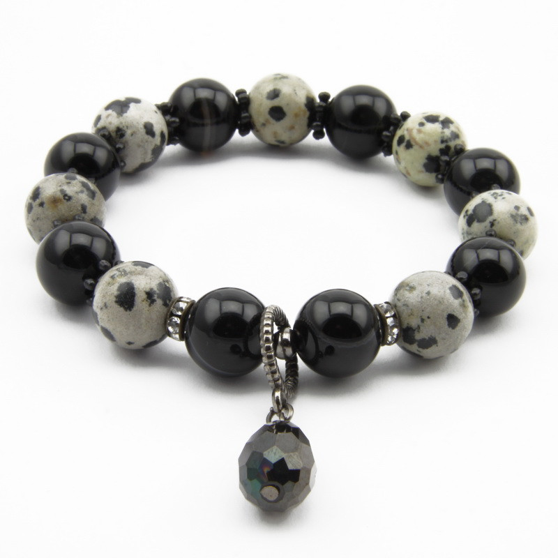 Agate Bracelet with...