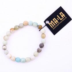 Elastic Amazonite Bracelet
