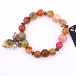 Orange and Pink Agate...