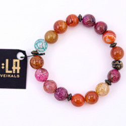Pink and Orange Agate...