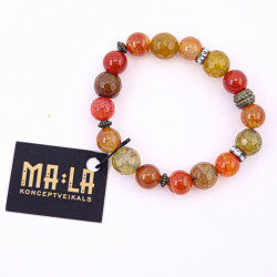 Orange and Red Agate...