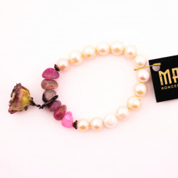 River Pearl and Pink Agate...