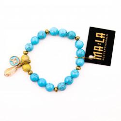 Turquoise Elastic Bracelet...