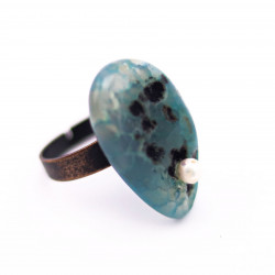 Copper Colored Ring with...