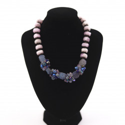 Light Pink Kyanite and Blue...