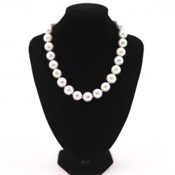 Big White Pearl Necklace...