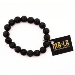 Lava Stone Elastic Bracelet
