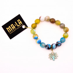 Blue and Yellow Agate...