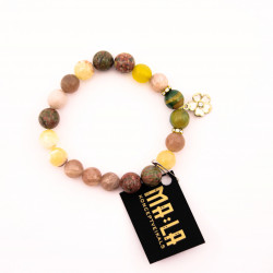 Sun Stone and Green Agate...