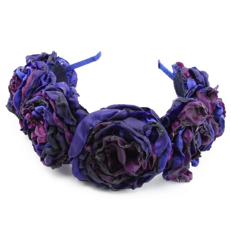 Matu stīpiņa (violetiem ziediņiem)