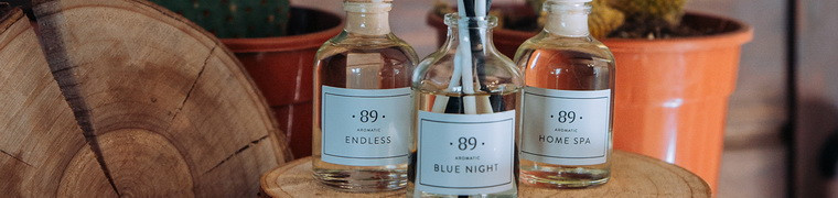 Aromatic •89• a manufacturer of home scents in Lithuania